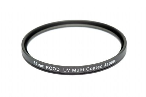 67mm Kood High Quality Multi Coated Both Sides UV Filter Japan